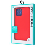 Чохол TOTU Soft Colorful Case Metal Buttons  iPhone 12 mini Red