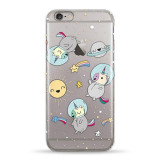 Чохол Pump Transperency Case for iPhone 6/6S Space Unicorns